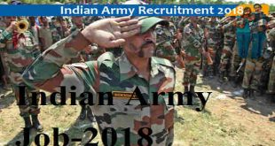 Recruitment on 10,000 posts out of the Indian Army for the 5th Pass logo, here