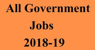 Apply for all government jobs from here